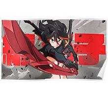 Ryūko Matoi - Kill La Kill 2 Poster