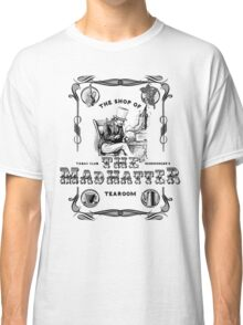 The Mad Hatter, the hatter, le chapelier fou, Alice in Wonderland, printmaking, Classic T-Shirt