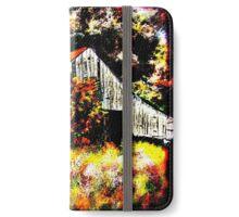 Arkansas Barn iPhone Wallet/Case/Skin