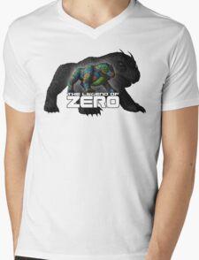 Dhasha Large Mens V-Neck T-Shirt