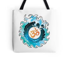 Yoga Infinity Wave with Ohm Tote Bag