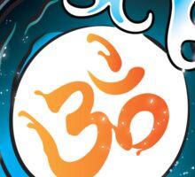 Yoga Infinity Wave with Ohm Sticker