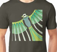 green feathered Unisex T-Shirt
