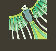 green feathered T-Shirt