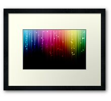 Colorful Striped (Textures) Framed Print