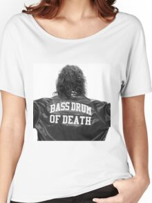 Bass drum of Death (3 of 3)  Women's Relaxed Fit T-Shirt