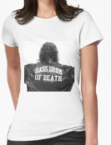 Bass drum of Death (3 of 3)  Womens Fitted T-Shirt