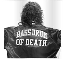 Bass drum of Death (3 of 3)  Poster