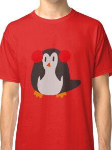 Earmuffs Penguin Classic T-Shirt