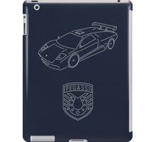 GTA V - Infernus Outline (White) iPad Case/Skin