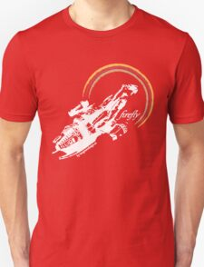 firefly white color T-Shirt