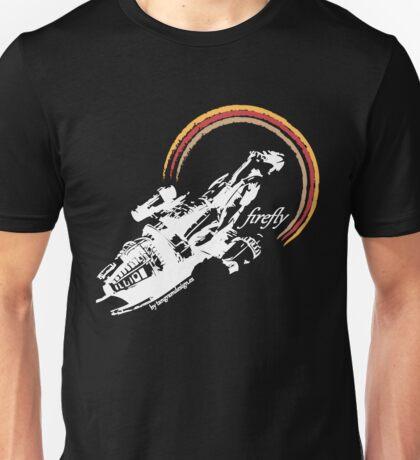 firefly white color Unisex T-Shirt