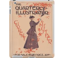 Artist Posters The Quarterly Illustrator Current Number for sale here price 30cts 1046 iPad Case/Skin