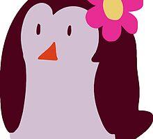 Flower Penguin by SaradaBoru