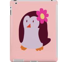 Flower Penguin iPad Case/Skin