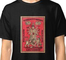 Durga Safety Matches - Matchbox Art Classic T-Shirt