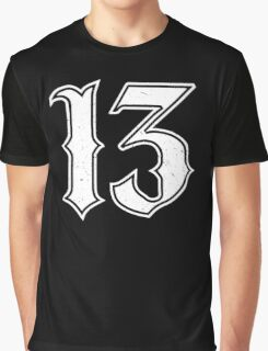 Lucky Number 13 Graphic T-Shirt