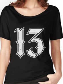 Lucky Number 13 Women's Relaxed Fit T-Shirt