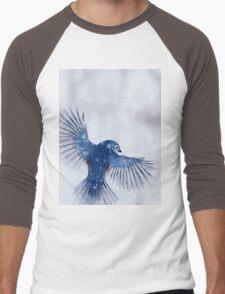 Winter Chickadee 2 Men's Baseball ¾ T-Shirt