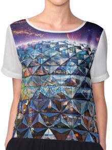 Attractions of Epcot Chiffon Top