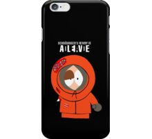 Shroedinger's Kenny iPhone Case/Skin