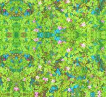 wild flower garden Sticker