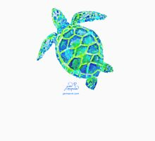 Sea Turtle green & blue by Jan Marvin T-Shirt