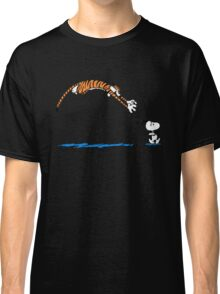 Hobbes And Snoopy Classic T-Shirt
