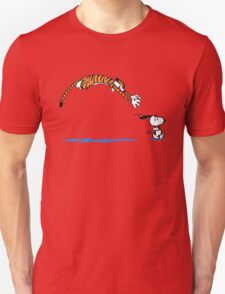 Hobbes And Snoopy T-Shirt