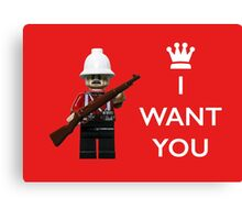 I want you! Canvas Print