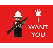 I want you! Photographic Print