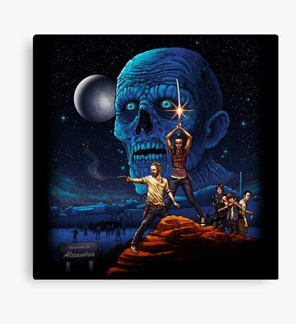 Dead Wars Canvas Print