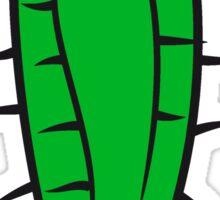 flowerpot sweet little plush sand desert thorn flowerpot cactus desert design large green cool Sticker