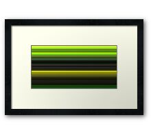 Lines in the mist 3 Framed Print