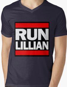 Unbreakable Kimmy Schmidt Inspired Rap Mashup - RUN Lillian - UKS Shirt - Females are Strong as Hell Parody Shirt Mens V-Neck T-Shirt