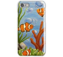 Clowning around iPhone Case/Skin