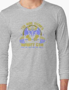 Thanos Gym Long Sleeve T-Shirt