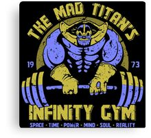Thanos Gym Canvas Print