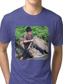 Whittle While You Work  Tri-blend T-Shirt