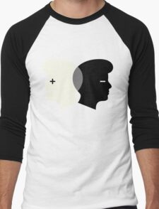 Middle Think Men's Baseball ¾ T-Shirt