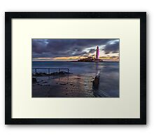 St Mary's Lighthouse Framed Print