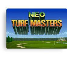 Neo Turf Masters (Neo Geo) Canvas Print