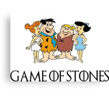 Game of Stones Canvas Print
