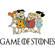 Game of Stones Photographic Print