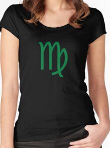 Homestuck Inspired: Virgo Symbol Women's Fitted Scoop T-Shirt
