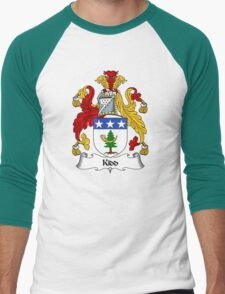 Kidd Coat of Arms / Kidd Family Crest Men's Baseball ¾ T-Shirt