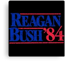 Reagan Bush Canvas Print