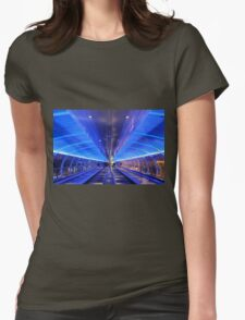 Manchester Airport Womens Fitted T-Shirt