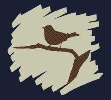 Silhouette Bird Kids Tee