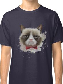 Cat with bow tie Classic T-Shirt